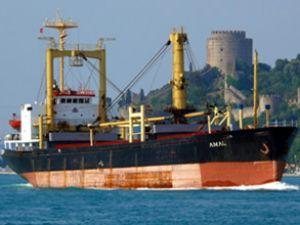 """""""Amal"""" gemisi, Rota Limanı'nda tutuluyor"""