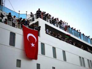 Ankara Feribotu Bingazi'den ayrıldı