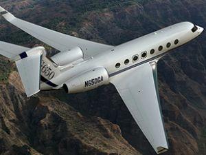 G650 tipi jet test uçuşu sırasında düştü