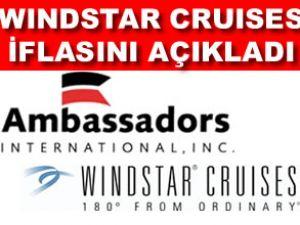"""""""Windstar Cruises"""" iflasını açıkladı"""