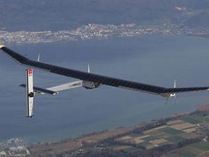 Solar Impulse ilk uluslararası uçuşunda