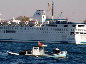 Ankara feribotu Libya'ya doğru yola çıktı