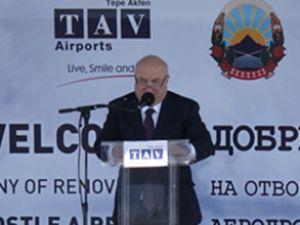 TAV, Ohrid Havalimanı'nı yeniledi