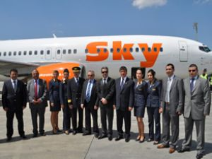 Sky, İstanbul-Kıbrıs uçuşlarına başladı
