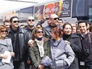 MAN, Eurovision için özel otobüs üretti