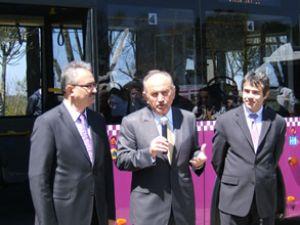 İstanbul'un otobüsü Kent 290LF ile tanıtıldı