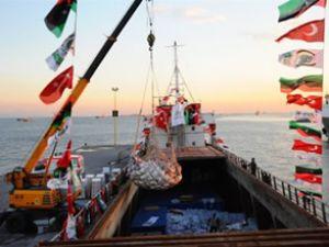 İHH'nın yardım gemisi Libya'ya ulaştı