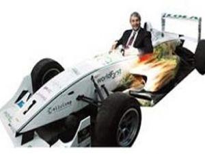 Ergün, ilk organik yarış aracını test etti
