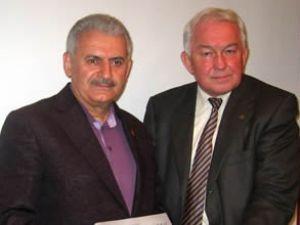 Yıldırım, İzmir DTO Meclisine katıldı