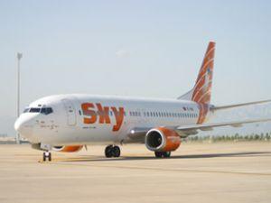 Borajet'in imdadına Sky'ın uçağı yetişti