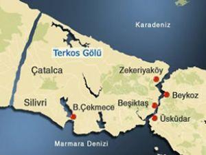 Kanal İstanbul'un muhtemel güzergahı