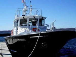 Maryland kılavuz teknesini teslim aldı