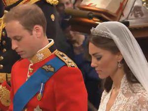 Prens William ile Kate Middleton evlendi
