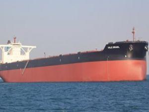 En büyük gemi Vale Brasil ilk seyrine çıktı