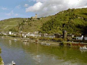 Ren Nehri'nde su seviyesi gittikçe azalıyor