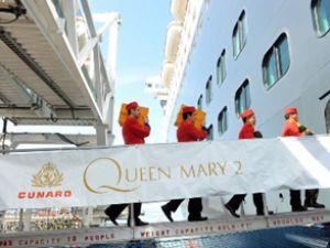 Cunard Line filosunda düğün coşkusu