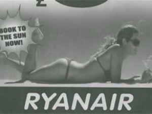 Ryanair'in bikinili reklamına onay çıkmadı