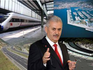 Binali Yıldırım: Marmaray 2013'te bitiyor