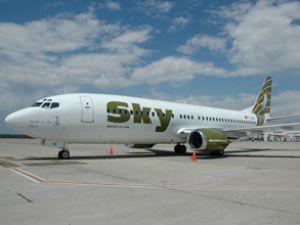 Sky Airlines Kayseri'ye uçmaya başladı