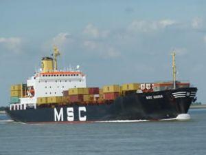 MSC Maria gemisi karaya oturdu