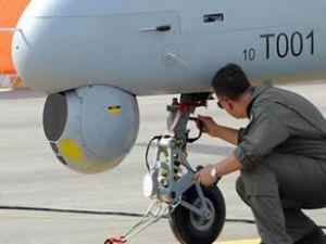 Anka test uçuşunda hafif hasar gördü