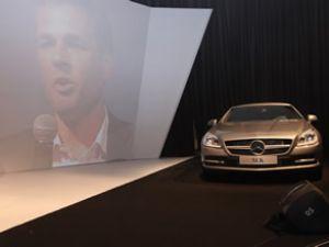 Mercedes, yeni Coupe ve SLK'sını tanıttı