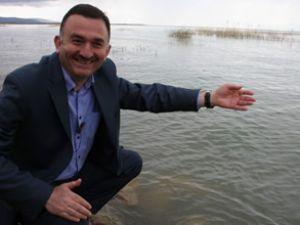 Beyşehir son 30 yılın en iyi su seviyesinde