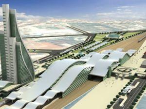 Eskişehir'e 700 bin m2'lik tren istasyonu