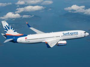 Sunexpress uçağı inişte arıza yaşadı