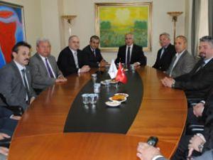 Çanakkale Valisi ÇTSO'yu ziyaret etti