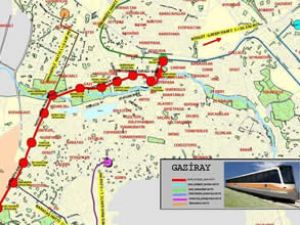 "Gaziantep'e Egeray gibi ""Gaziray Projesi"""