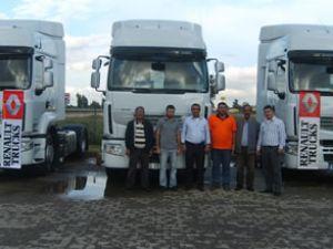 Efe Proje'nin tercihi Renault Trucks oldu