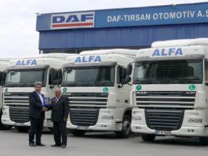 Alfa Nakliyat 8 adet DAF Optimizer aldı