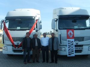 Kerim Uluğ Tarım'ın tercihi Renault Trucks
