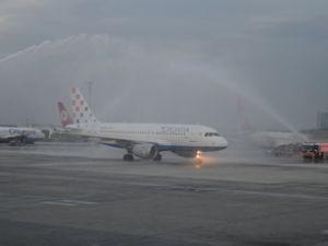 Zagrep-İstanbul uçuşları yeniden başladı