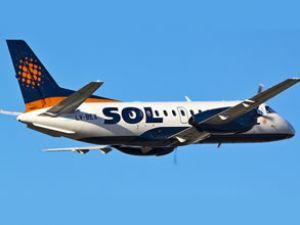 SOL'a ait bir yolcu uçağı düştü!
