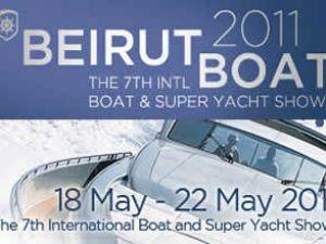 Beyrut Boat 2011 Fuarı kapılarını açtı