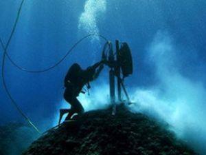 Deniz yatağının 2 km altında araştırma