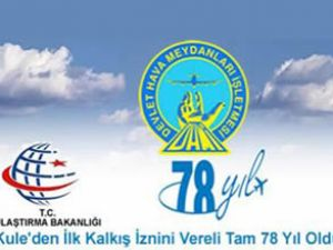 DHMİ 78'nci kuruluş yılını İzmir'de kutladı