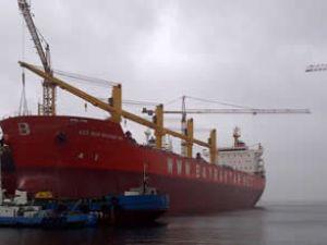 Ece Nur Bayraktar gemisi teslim edildi