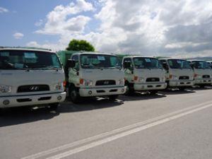 Hyundai Truck'lar belediyelere hizmet ediyor