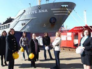 Türk denizciliğinin dümeni kadınlarda