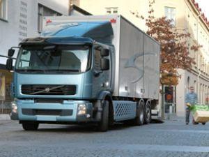 Volvo FE Hibrid araç Avrupa'da tanıtılıyor