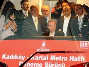 Kadıköy-Kartal Metrosu'nun testi yapıldı