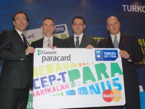 Turkcell ve Garanti'den 'Cep-T Paracard'