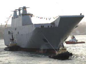 'Juan Carlos I' gemisi İstanbul'da tanıtıldı