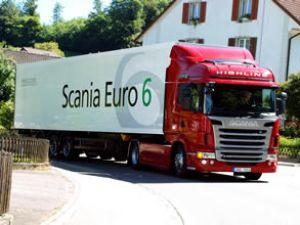 Scania'nın Euro 6 motorları yola çıktı