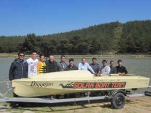 'Diyyojen', Solar Tekne Yarışına uğurlandı