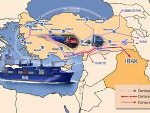 Arkas, Irak'a kombine taşımacılık yapıyor