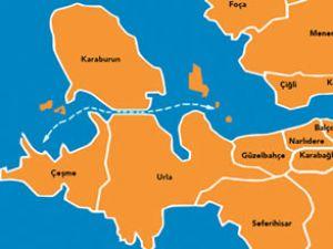 Körfez - Çeşme arasına deniz otoyolu